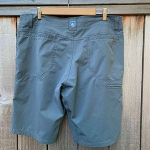 Kuhl Shorts - Men's Kuhl shorts. Deep Forrest color, size 34